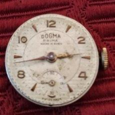 Relojes de pulsera: MAQUINARIA DE RELOJ DOGMA PRIMA 15 RUBIS. SEÑORA. VINTAGE.. Lote 194355058