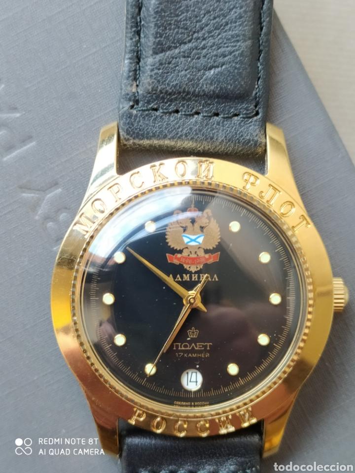 Relojes de pulsera: Reloj mecanico ruso Poljot Admiral serie limitada - Foto 6 - 194223513