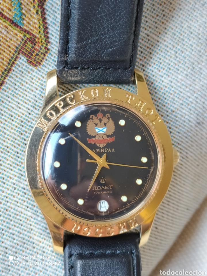 Relojes de pulsera: Reloj mecanico ruso Poljot Admiral serie limitada - Foto 8 - 194223513