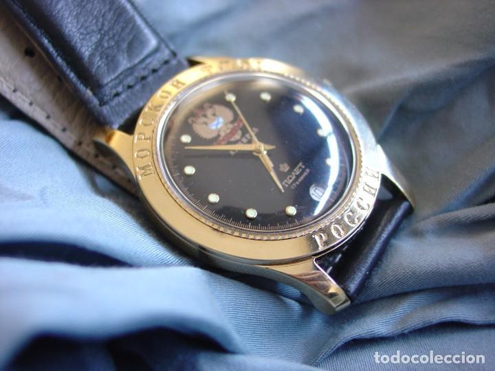 Relojes de pulsera: Reloj mecanico ruso Poljot Admiral serie limitada - Foto 2 - 194223513