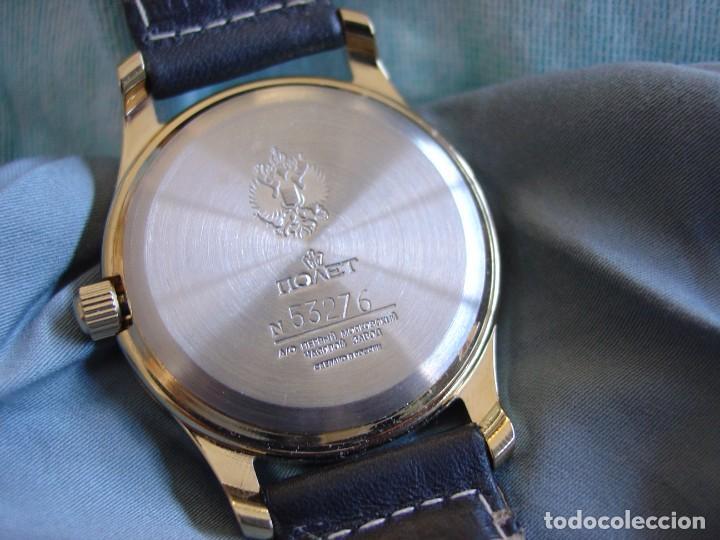 Relojes de pulsera: Reloj mecanico ruso Poljot Admiral serie limitada - Foto 5 - 194223513