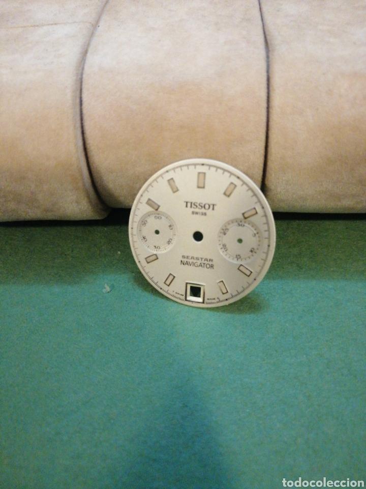 Relojes de pulsera: Mostrador cronógrafo Tissot valjoux, 7734 - Foto 2 - 194522298
