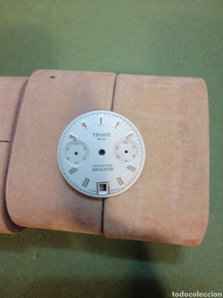 Relojes de pulsera: Mostrador cronógrafo Tissot valjoux, 7734 - Foto 3 - 194522298