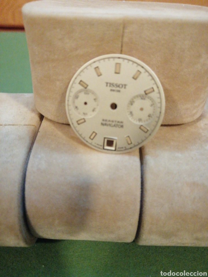 MOSTRADOR CRONÓGRAFO TISSOT VALJOUX, 7734 (Relojes - Pulsera Carga Manual)