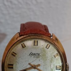 Relojes de pulsera: ANTIGUO RELOJ DE CABALLERO EXACTUS CARGA MANUAL. Lote 194523930