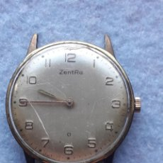 Relojes de pulsera: RELOJ MARCA ZENTRA. CLÁSICO DE CABALLERO. FUNCIONANDO. Lote 194581407
