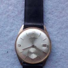 Relojes de pulsera: RELOJ MARCA JUSTINA. CLÁSICO DE CABALLERO.. Lote 194608171