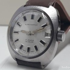 Relojes de pulsera: RELOJ VINTAGE MARCA SUPERWATCH DE SEÑORA AÑOS 70 CARGA MANUAL CALIBRE AS Y NUEVO . Lote 194609471