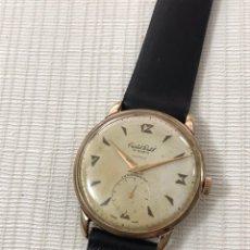 Relojes de pulsera: RELOJ CRISTAL WATCH SÚPER 15 RUBIS CARGA MANUAL 37 MM VINTAGE 50-129. Lote 194627652
