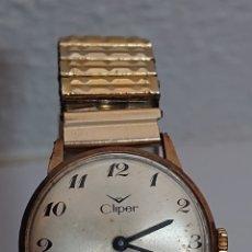 Relojes de pulsera: ANTIGUO RELOJ DE CABALLERO CLIPER CARGA MANUAL AÑOS 60. Lote 194631746