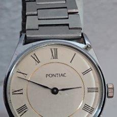 Relojes de pulsera: ANTIGUO RELOJ DE CABALLERO PONTIAC INTERNACIONAL. Lote 194639683