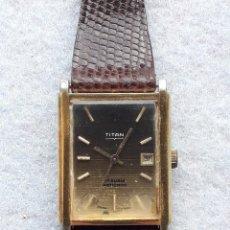 Relojes de pulsera: RELOJ MARCA TITÁN. CLÁSICO DE CABALLERO.. Lote 194700910