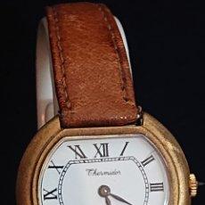Relojes de pulsera: ANTIGUO RELOJ THERMIDOR PARÍS CARGA MANUAL FUNCIONA. Lote 194702727