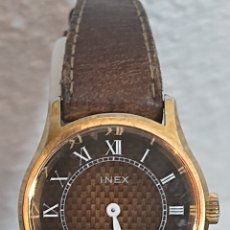 Relojes de pulsera: ANTIGUO RELOJ INEX CARGA MANUAL FUNCIONA. Lote 194703486