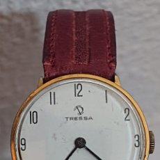 Relojes de pulsera: ANTIGUO RELOJ TRESSA SHOCKPROTECTED CARGA MANUAL FUNCIONA. Lote 194704343