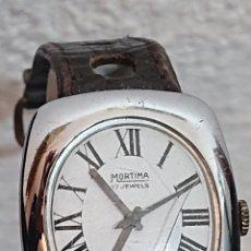 Relojes de pulsera: ANTIGUO RELOJ MORTIMA CARGA MANUAL FUNCIONA. Lote 194705023