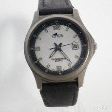 Relojes de pulsera: EXCELENTE LOTUS DAMA CAJA DE TITANIO GRAN CALIDAD WR100M FUNCIONA LOTE WATCHES. Lote 194712566