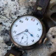 Relojes de pulsera: C2/3 RELOJ VINTAGE DE PLATA 34MM NO FUNCIONA. Lote 194724321