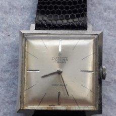 Relojes de pulsera: RELOJ MARCA POTENS. CLÁSICO DE CABALLERO. SWISS MADE. Lote 194775163