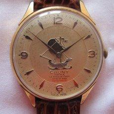 Relojes de pulsera: GRAN RELOJ CAUNY PRIMA VINTAGE CARABELA. Lote 194851712