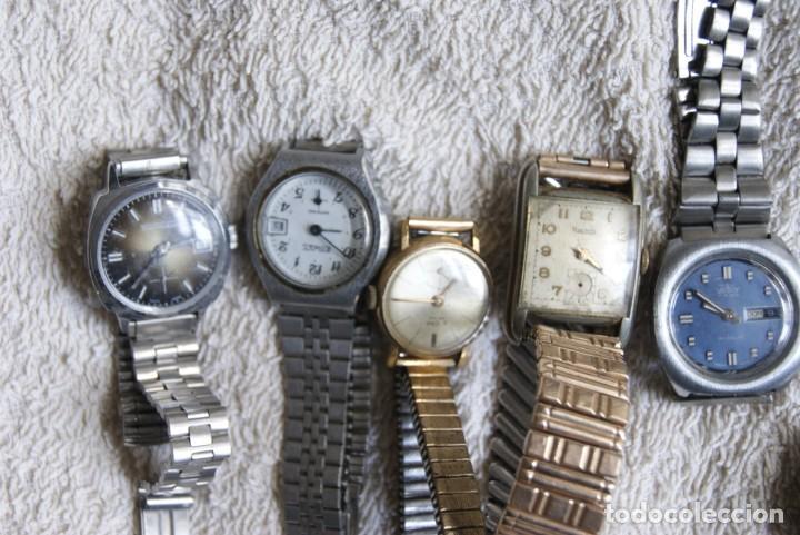 Relojes de pulsera: LOTE DE 14 RELOJES MECANICOS DE DAMA ALGUNO FUNCIONA F22 - Foto 2 - 194858852