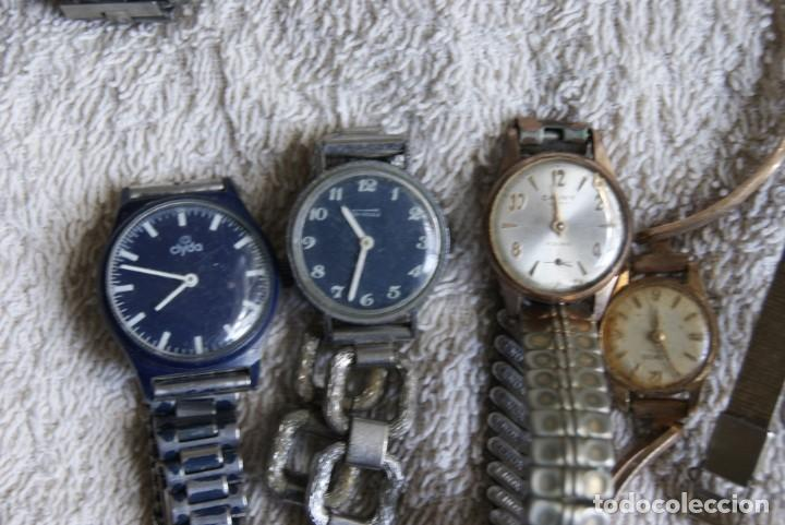 Relojes de pulsera: LOTE DE 14 RELOJES MECANICOS DE DAMA ALGUNO FUNCIONA F22 - Foto 3 - 194858852