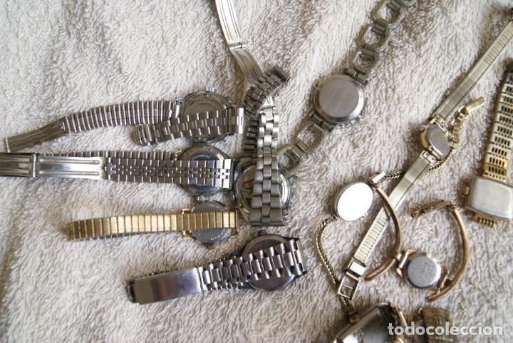 Relojes de pulsera: LOTE DE 14 RELOJES MECANICOS DE DAMA ALGUNO FUNCIONA F22 - Foto 6 - 194858852