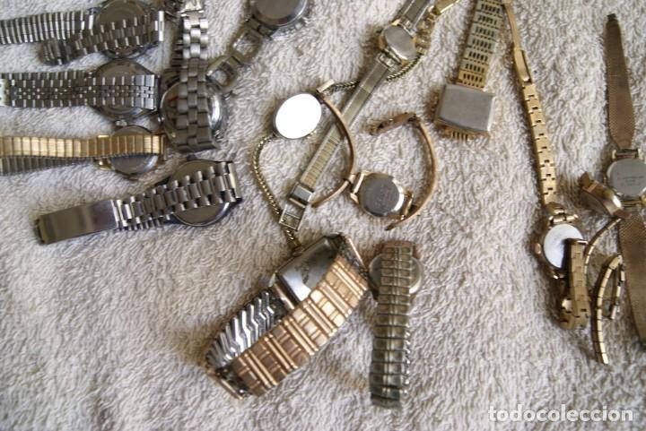 Relojes de pulsera: LOTE DE 14 RELOJES MECANICOS DE DAMA ALGUNO FUNCIONA F22 - Foto 7 - 194858852