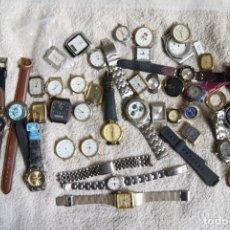 Relojes de pulsera: LOTE DE 34 RELOJES QUARTZ SIN REVISAR F23. Lote 194859208