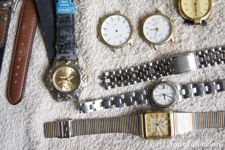 Relojes de pulsera: LOTE DE 34 RELOJES QUARTZ SIN REVISAR F23 - Foto 3 - 194859208