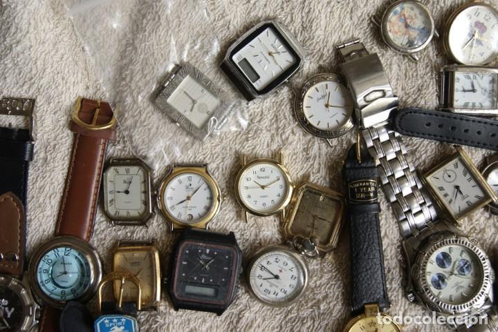 Relojes de pulsera: LOTE DE 34 RELOJES QUARTZ SIN REVISAR F23 - Foto 4 - 194859208