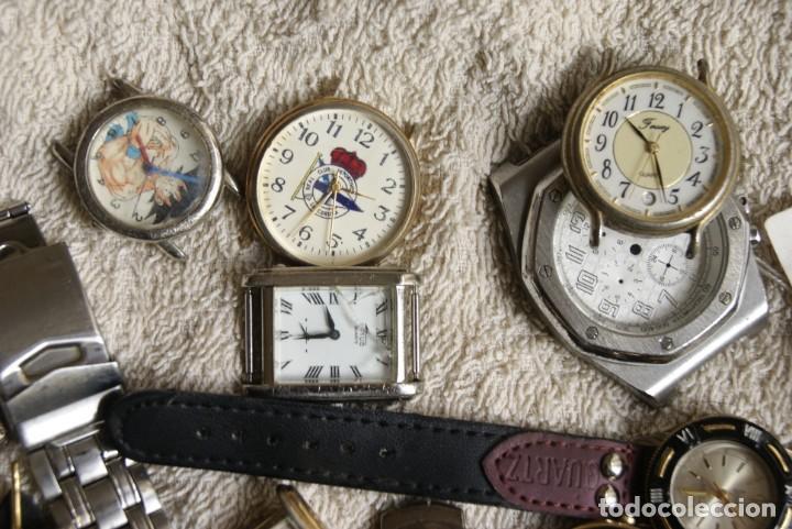 Relojes de pulsera: LOTE DE 34 RELOJES QUARTZ SIN REVISAR F23 - Foto 5 - 194859208