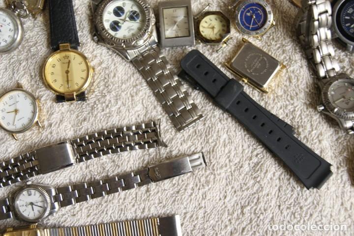 Relojes de pulsera: LOTE DE 34 RELOJES QUARTZ SIN REVISAR F23 - Foto 7 - 194859208