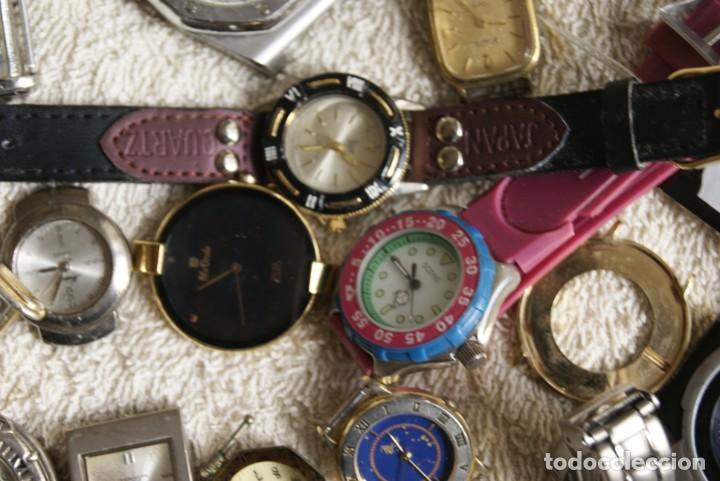 Relojes de pulsera: LOTE DE 34 RELOJES QUARTZ SIN REVISAR F23 - Foto 9 - 194859208