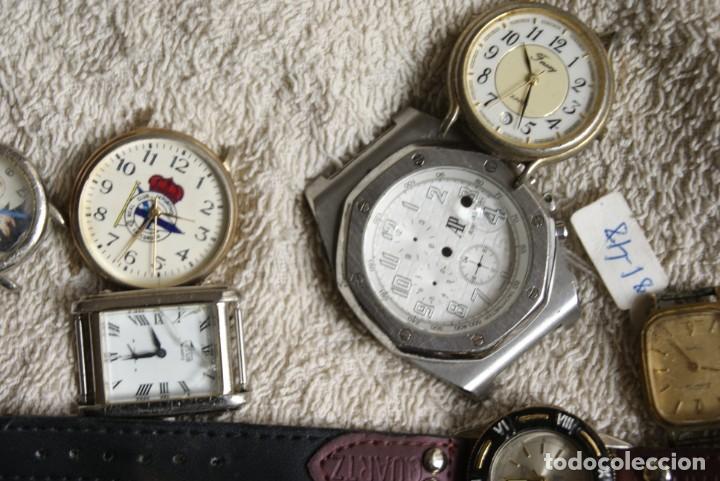 Relojes de pulsera: LOTE DE 34 RELOJES QUARTZ SIN REVISAR F23 - Foto 10 - 194859208
