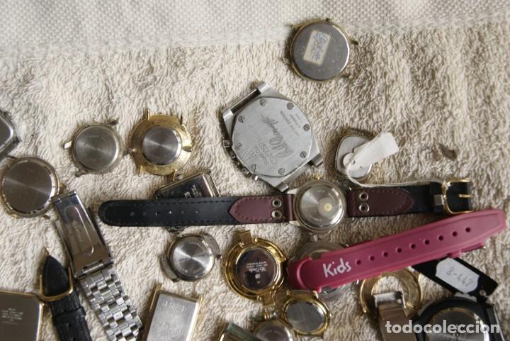 Relojes de pulsera: LOTE DE 34 RELOJES QUARTZ SIN REVISAR F23 - Foto 11 - 194859208