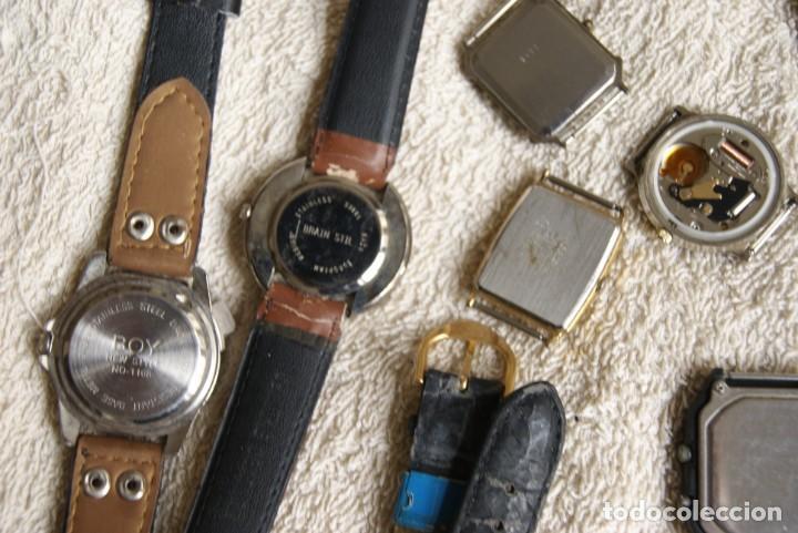 Relojes de pulsera: LOTE DE 34 RELOJES QUARTZ SIN REVISAR F23 - Foto 14 - 194859208
