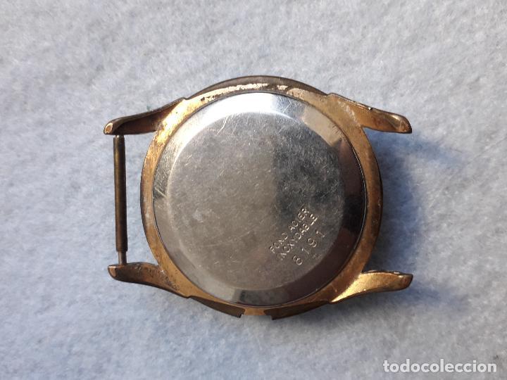 Relojes de pulsera: Lote de 5 Relojes mecánicos antiguos para caballero. - Foto 3 - 194873413