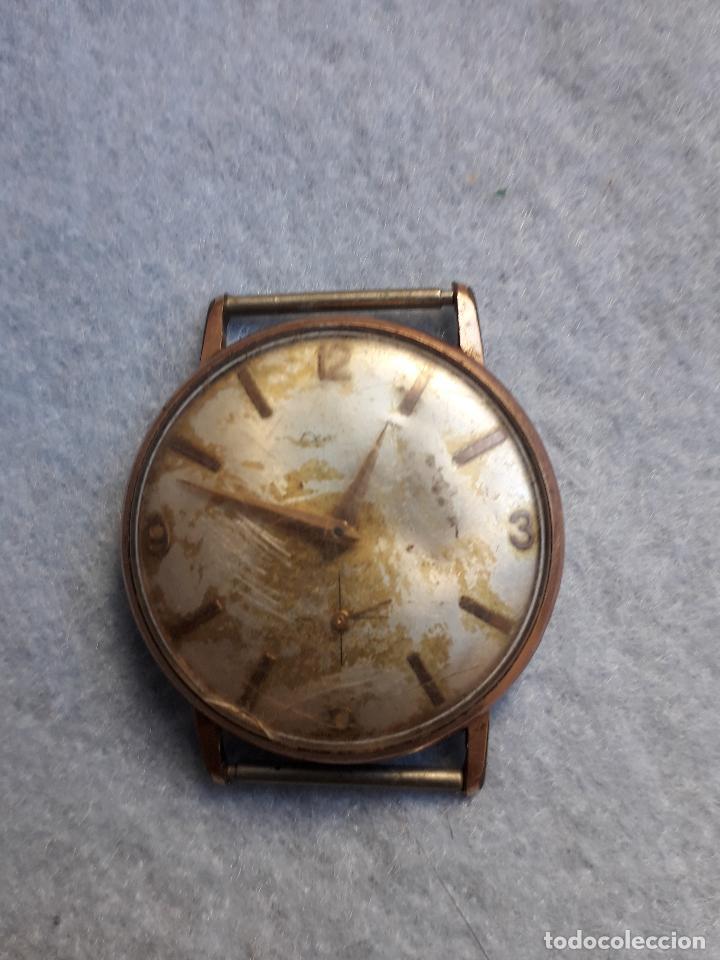 Relojes de pulsera: Lote de 5 Relojes mecánicos antiguos para caballero. - Foto 4 - 194873413