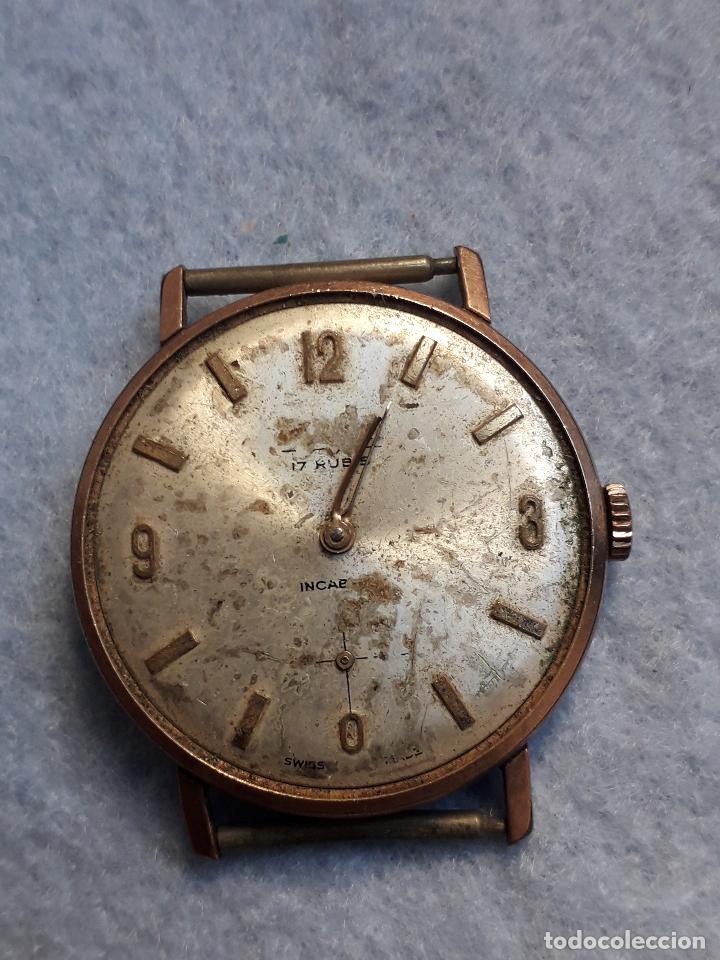 Relojes de pulsera: Lote de 5 Relojes mecánicos antiguos para caballero. - Foto 6 - 194873413