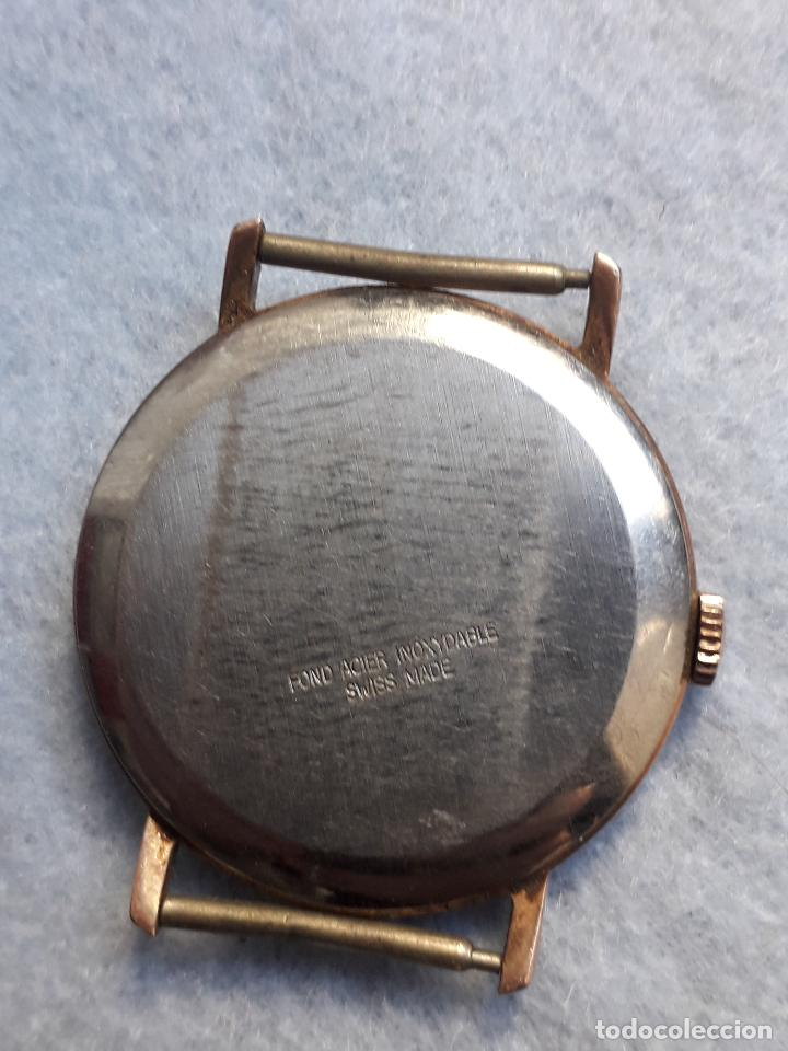 Relojes de pulsera: Lote de 5 Relojes mecánicos antiguos para caballero. - Foto 7 - 194873413