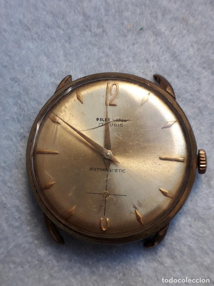 Relojes de pulsera: Lote de 5 Relojes mecánicos antiguos para caballero. - Foto 8 - 194873413