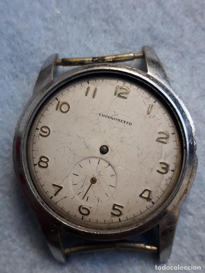 Relojes de pulsera: Lote de 5 Relojes mecánicos antiguos para caballero. - Foto 9 - 194873413