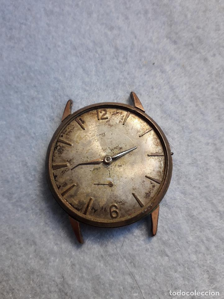 Relojes de pulsera: Lote de 5 Relojes mecánicos antiguos para caballero. - Foto 2 - 194873933