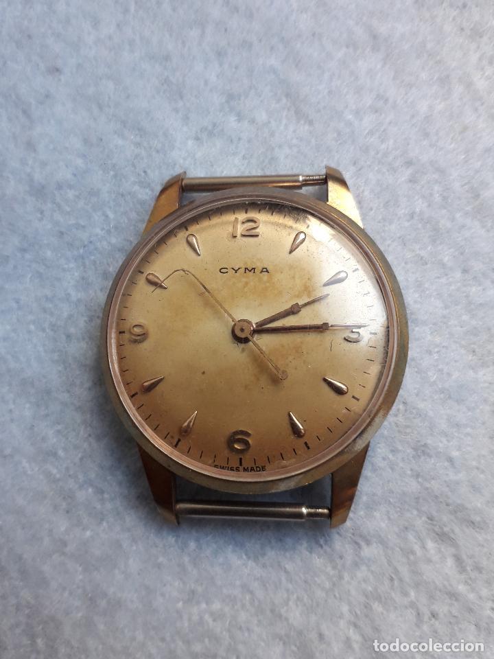 Relojes de pulsera: Lote de 5 Relojes mecánicos antiguos para caballero. - Foto 5 - 194873933