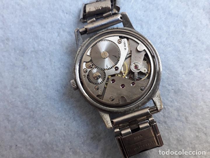 Relojes de pulsera: Lote de 5 Relojes mecánicos antiguos para caballero. - Foto 10 - 194873933
