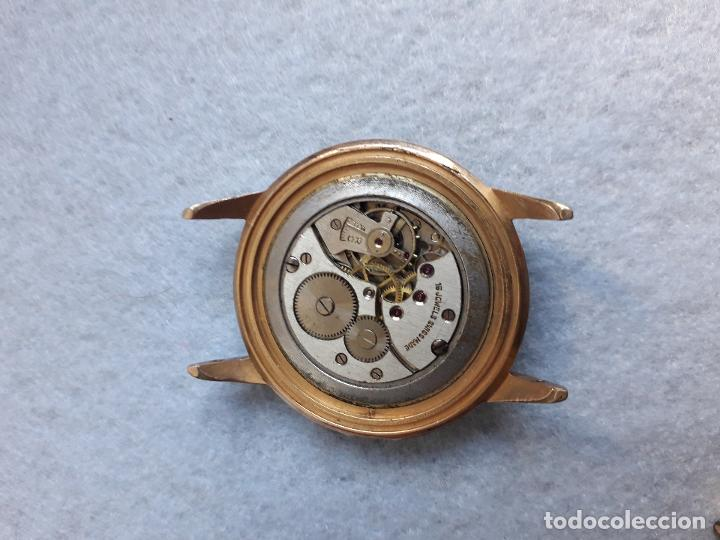 Relojes de pulsera: Lote de 5 Relojes mecánicos antiguos para caballero. - Foto 7 - 194874140