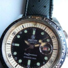Relojes de pulsera: RELOJ MORTIMA SUPER DATOMATIC 17 JEWELS DRIVERS , CABALLERO. Lote 194974043