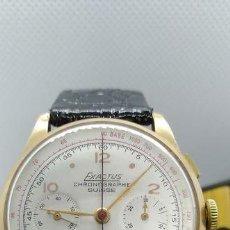 Relojes de pulsera: EXACTUS - ORO 18KT - LANDERON 51 - CRONO VINTAGE - HOMBRE - 1950-1959. Lote 195031220