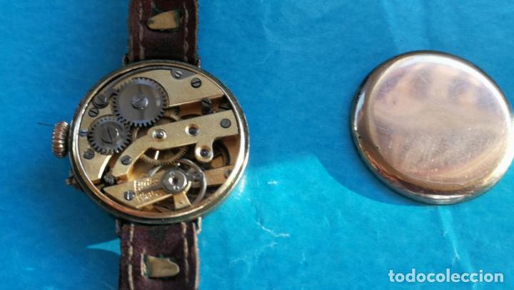 Relojes de pulsera: Botito y rarote reloj de pulsera, funciona pero a veces se para, por tanto para reparar o piezas - Foto 18 - 195048415